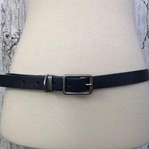 GAP blue leather belt